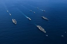 Mỹ và 6 quốc gia đồng minh tập trận chống tàu ngầm