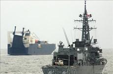 Nhật Bản và Anh diễn tập chống cướp biển ở Vịnh Aden