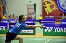 VĐV cầu lông Thùy Linh đối đầu tay vợt số 1 thế giới