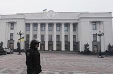 Đối tượng cầm lựu đạn dọa tấn công tòa nhà Chính phủ Ukraine