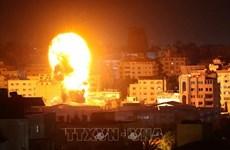 Israel không kích hàng loạt khu vực ở miền Nam Liban