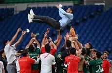 Mexico thắng đậm Nhật Bản, giành huy chương Đồng bóng đá nam