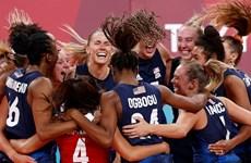 Olympic Tokyo 2020: Mỹ có tấm Huy chương Vàng thứ 39