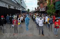 Số ca nhiễm mới tại Campuchia giảm ngày thứ 10 liên tiếp