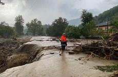 Số người thiệt mạng do lũ lụt tại Thổ Nhĩ Kỳ tăng cao