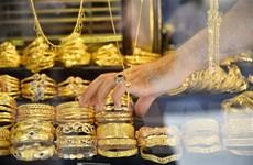 Giá vàng thế giới tăng nhẹ trong phiên giao dịch tuần qua
