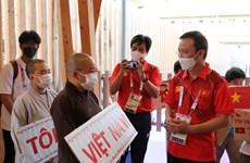 Cộng đồng người Việt ở Nhật Bản 'tiếp lửa' cho các VĐV Việt Nam
