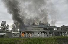 Cháy nhà máy hóa chất ở Pakistan, 14 công nhân thiệt mạng