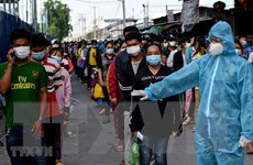 Campuchia kéo dài các biện pháp hạn chế tại thủ đô thêm 14 ngày