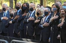 Giới lãnh đạo Mỹ dự lễ tưởng niệm ngày diễn ra vụ khủng bố 11/9