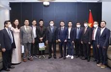 Chủ tịch Quốc hội tiếp các doanh nghiệp trẻ người Việt ở Phần Lan