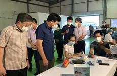 Hải Dương triển khai tiêm vaccine phòng COVID-19 cho công nhân