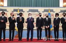 Nhóm nhạc BTS được bổ nhiệm làm đặc phái viên của Tổng thống Hàn Quốc
