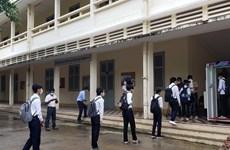 Hàng chục nghìn học sinh Campuchia bắt đầu tựu trường