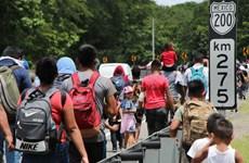Mỹ nỗ lực giải quyết dòng người di cư ở biên giới với Mexico