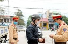 Xử phạt đối tượng xúc phạm cảnh sát giao thông trên mạng xã hội