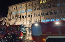 Romania: Cháy bệnh viện điều trị COVID-19 khiến 9 người thiệt mạng