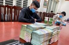 Hà Nội: Triệt phá đường dây đánh bạc qua mạng, bắt giữ 18 đối tượng
