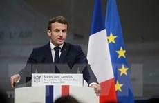 """Tổng thống Pháp ca ngợi thỏa thuận thuế toàn cầu là """"bước tiến lớn"""""""