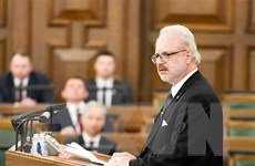Tổng thống Latvia nhiễm COVID-19 sau chuyến công du Bắc Âu
