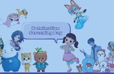 Trình chiếu nhiều bộ phim hoạt hình Hàn Quốc tại sự kiện ICT Business