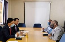 Việt Nam và Botswana cam kết thúc đẩy hợp tác song phương và đa phương
