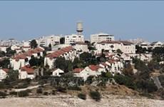 Israel công bố kế hoạch xây thêm hơn 1.300 nhà ở định cư ở Bờ Tây