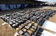 Chính phủ Peru thu giữ gần 62 tấn cocaine trong 10 tháng qua