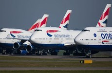 Các hãng hàng không lớn trên thế giới lỗ hàng tỷ USD vì COVID-19