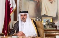 Quốc vương Qatar bắt đầu chuyến thăm chính thức Saudi Arabia
