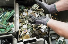 Tái chế rác thải điện tử đóng vai trò quan trọng với an ninh châu Âu