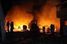 Ấn Độ: Cháy nhà máy sản xuất thuốc trừ sâu, ít nhất 4 người thiệt mạng