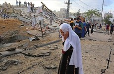 Hơn 100 người Palestine đã thiệt mạng vì xung đột ở Dải Gaza