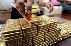 Giá vàng thế giới tăng phiên 17/5 khi đồng USD xuống giá