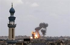 Tổng thống Abbas kêu gọi chấm dứt các cuộc không kích nhằm vào Gaza