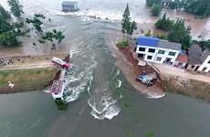Trung Quốc: Nguy cơ lũ lụt nghiêm trọng khi lượng mưa cao kỷ lục