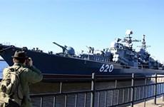 Hạm đội Baltic của Nga được tăng cường hai tàu tên lửa