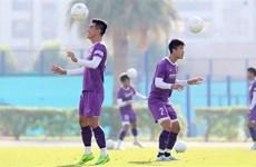 Quang Hải, Tiến Linh và bộ khung của đội tuyển Việt Nam tại UAE