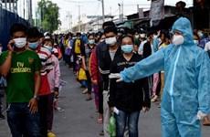 COVID-19: Campuchia lo ngại khó khống chế được dịch bệnh trong nước