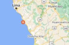 Động đất mạnh làm rung chuyển thủ đô Lima và bờ biển của Peru