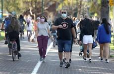 COVID-19: Israel tái áp đặt quy định bắt buộc đeo khẩu trang