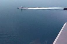 """Ông Putin: Sự cố tàu khu trục của Anh là """"hành động khiêu khích"""""""