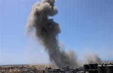 Israel không kích các cơ sở quân sự của Hamas ở Dải Gaza
