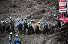 Nhật Bản tiếp tục khẩn trương cứu hộ sau vụ sạt lở ở tỉnh Shizuoka