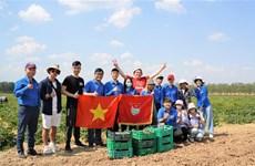Sinh viên Việt Nam tích cực tham gia Ngày Thứ Bảy Cộng sản ở Moskva