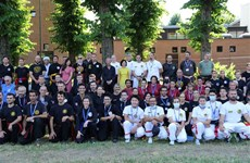 Thành lập Liên đoàn Võ cổ truyền Việt Nam tại Italy