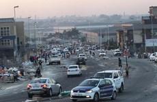 Nam Phi huy động quân dự bị để phòng chống bạo loạn