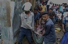 Số người thiệt mạng do lở đất tại Ấn Độ tăng, Đức lại hứng lũ quét