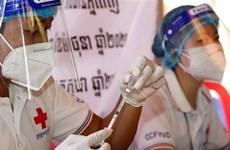Chiến dịch tiêm phòng của Campuchia dự kiến hoàn thành trước thời hạn