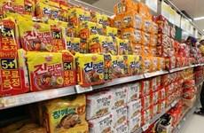 Hàn Quốc: Xuất khẩu mỳ ăn liền đạt kỷ lục mới trong bối cảnh đại dịch
